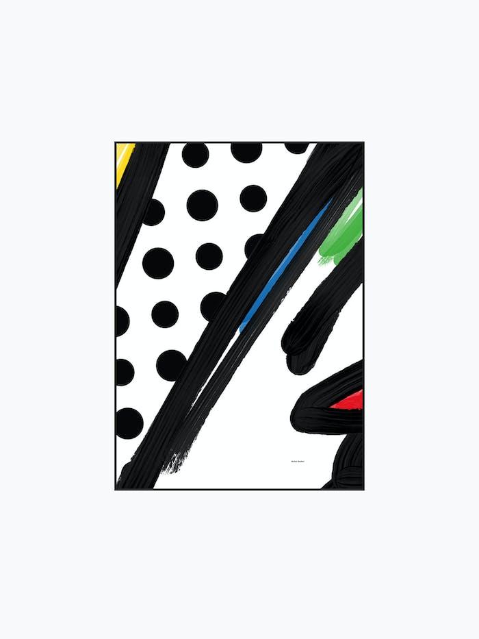 Strokes - Burban Studios - Poster Tavla / luleå