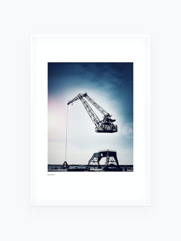 Luleå Kranen Tavla Poster - Burban Studios