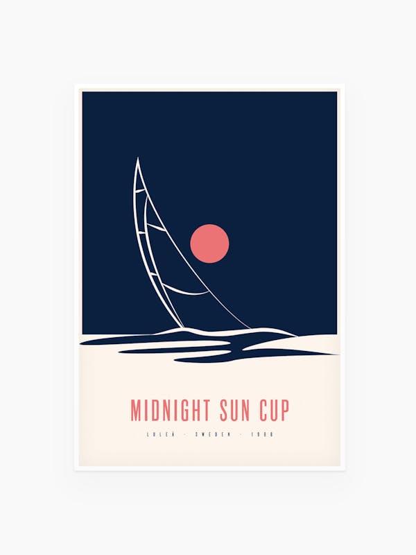Midnight Sun Cup Luleå 1988 - Burban Studios Tavla Poster
