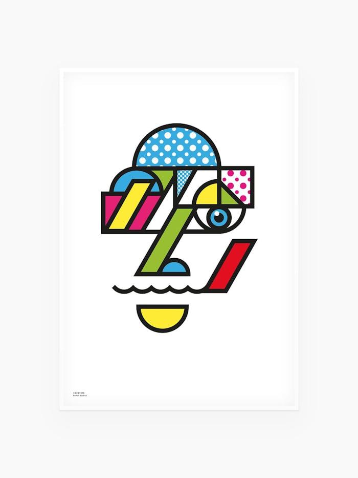 Facetime - Konst / Pop Art av Burban Studios i Luleå