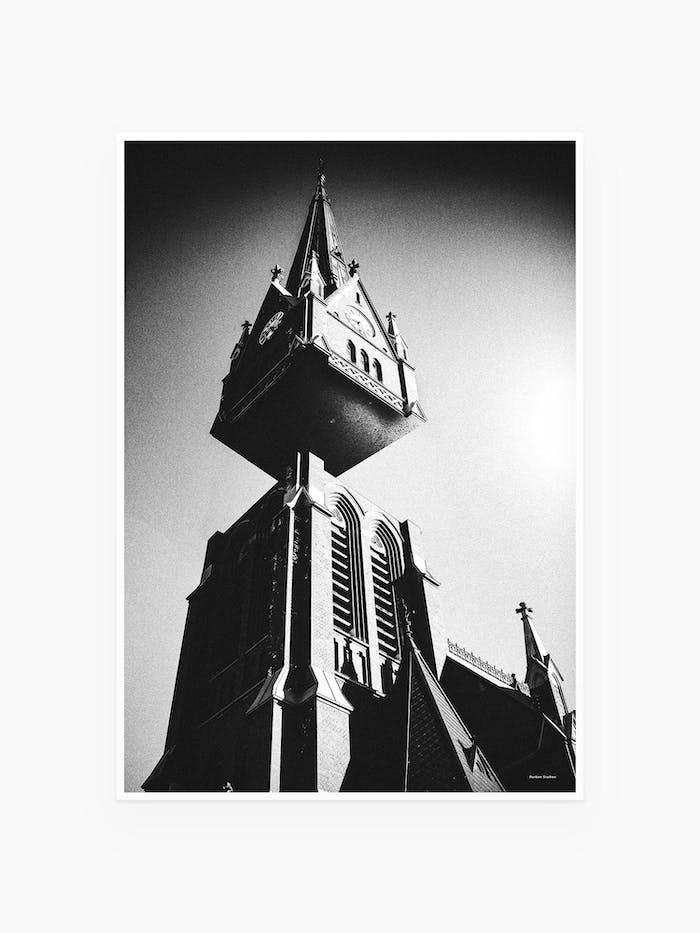 Luleå tavla / poster kyrkan / Burban Studios