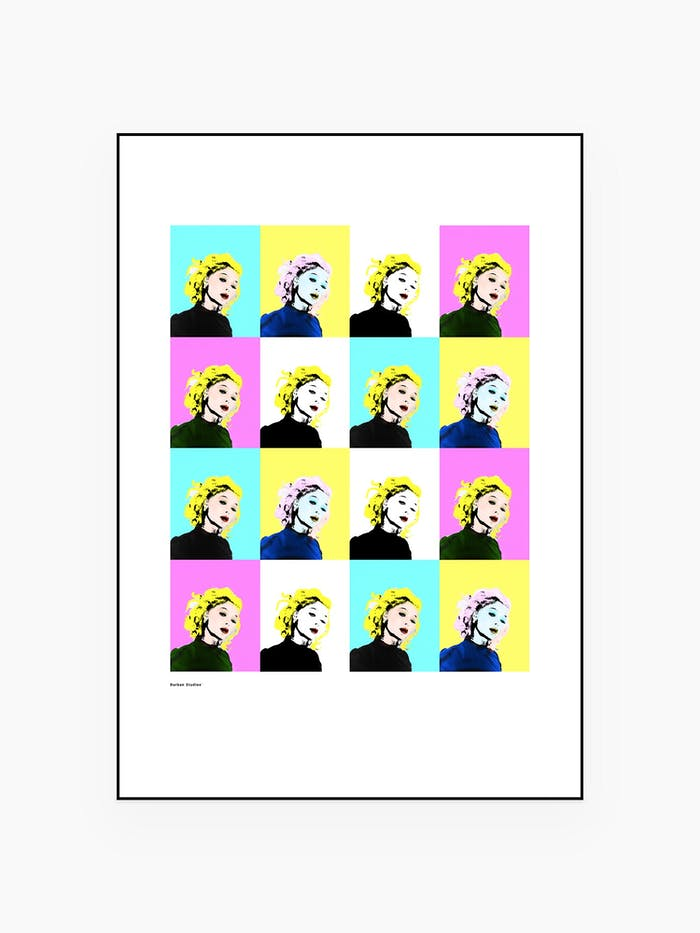 Queen of pop Poster zara larson Pop art - Burban Studios