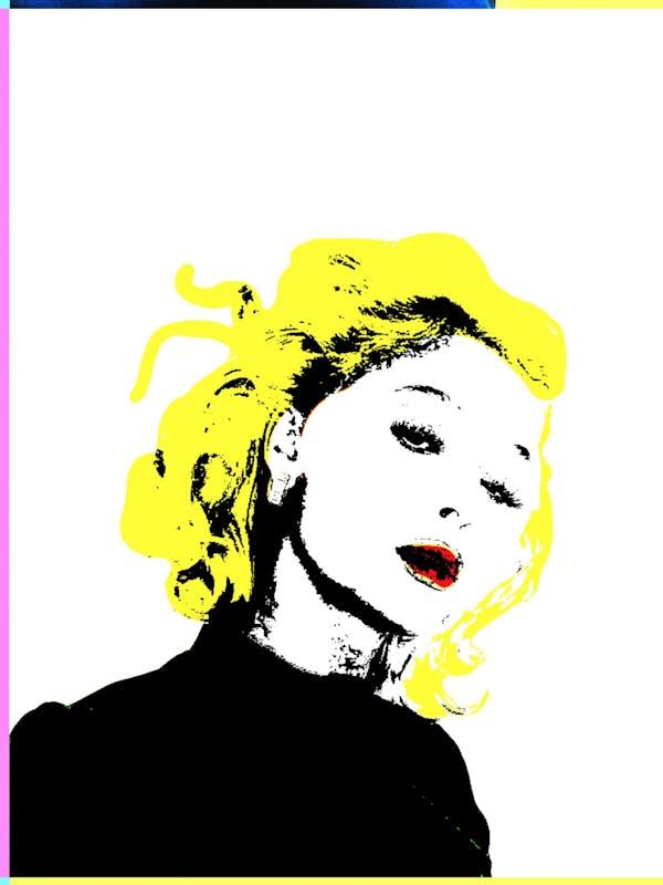 Queen of pop Poster zara larson Pop art - Burban Studios