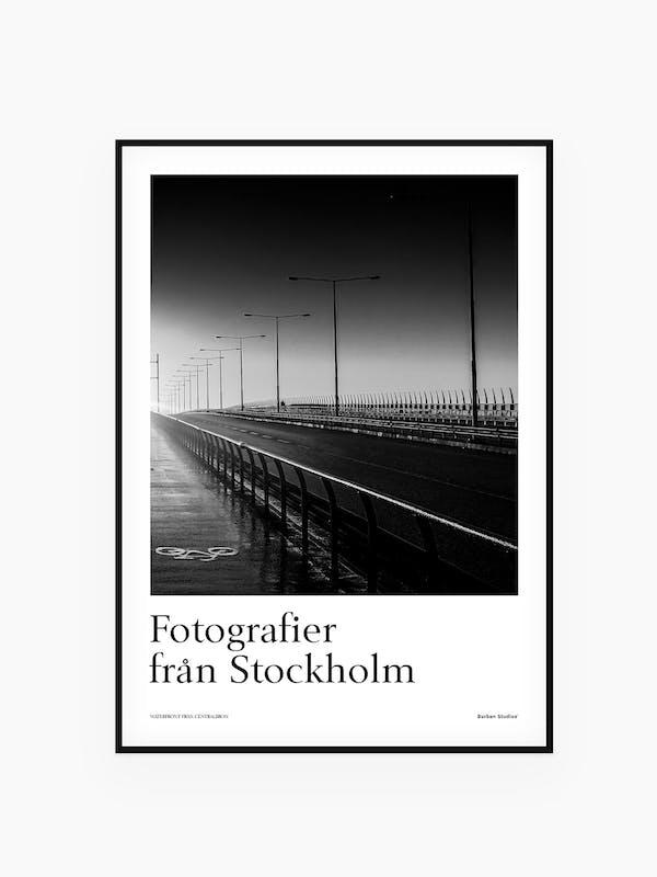 Västerbron Stockholm - Tavla / poster / affisch